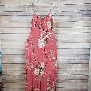 NWT ZARA Woman Floral Print Maxi Dress